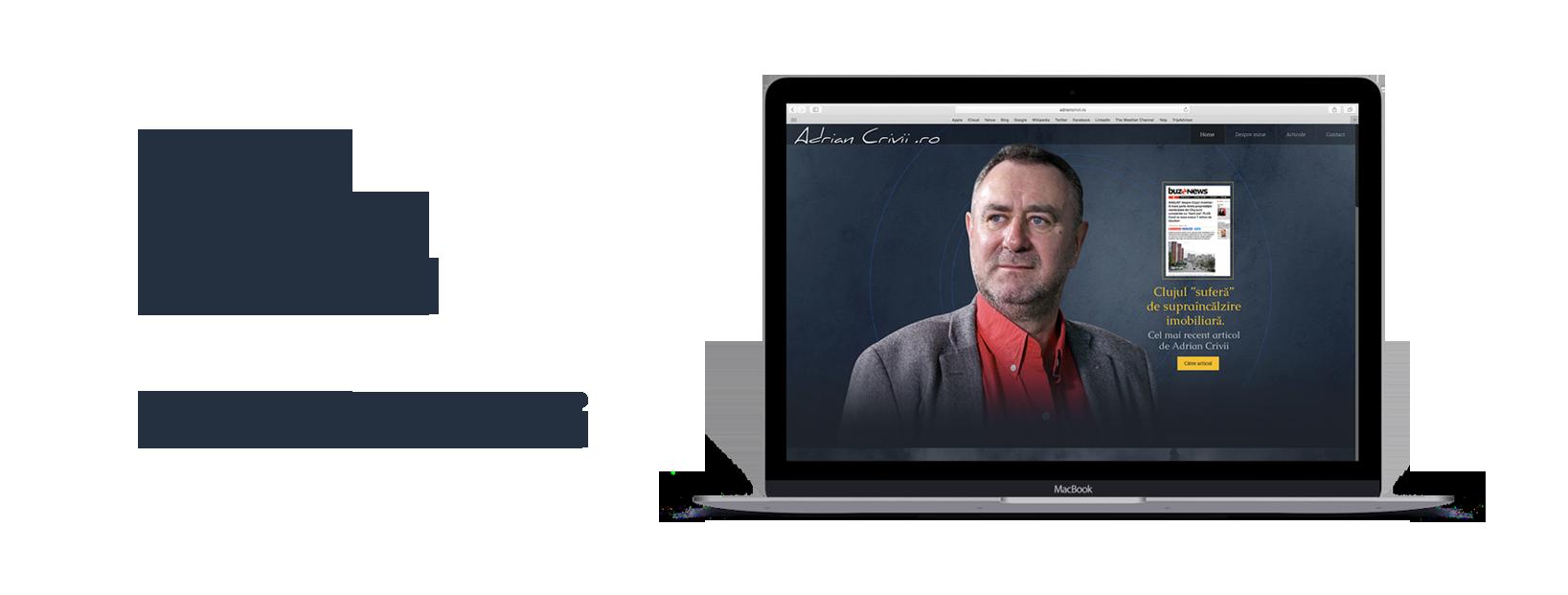 Vezi blogul personal Adrian Crivii