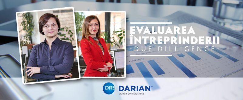 Andreea Suciachi si Dana Cușmir - Due – diligence și evaluarea întreprinderii în cazul unei tranzacții