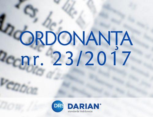 Noua ordonanța nr. 23/2017 emisă de Guvernul României, privind plata defalcată a TVA