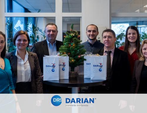 Echipa Darian vă urează Sărbători Fericite!