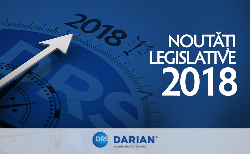 newsflash noutati legislative 2018