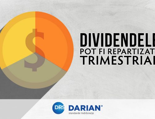 Dividends can also be distributed quarterly