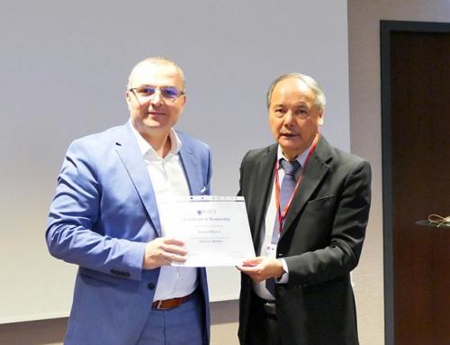 IVSC – WAVO Frankfurt, Adrian Popa a primit Certificatul de Membru Corporativ